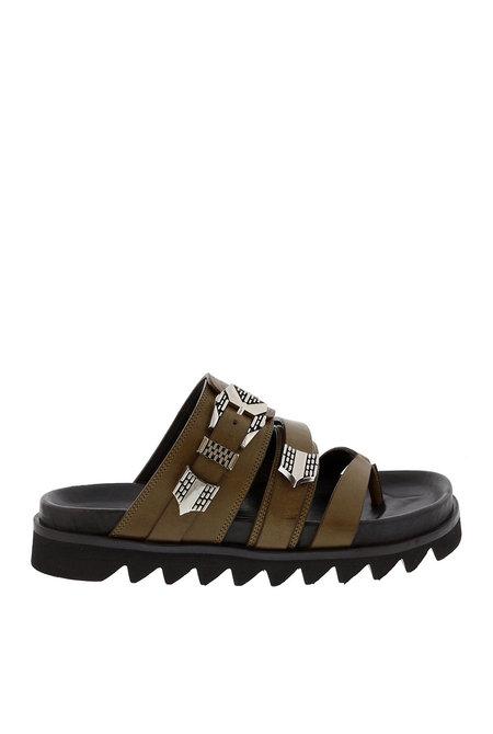sandalen Lauren Taro groen