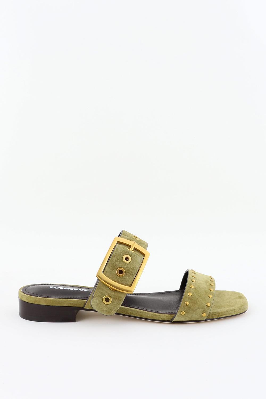 Lola Cruz slippers 123Z30BK groen
