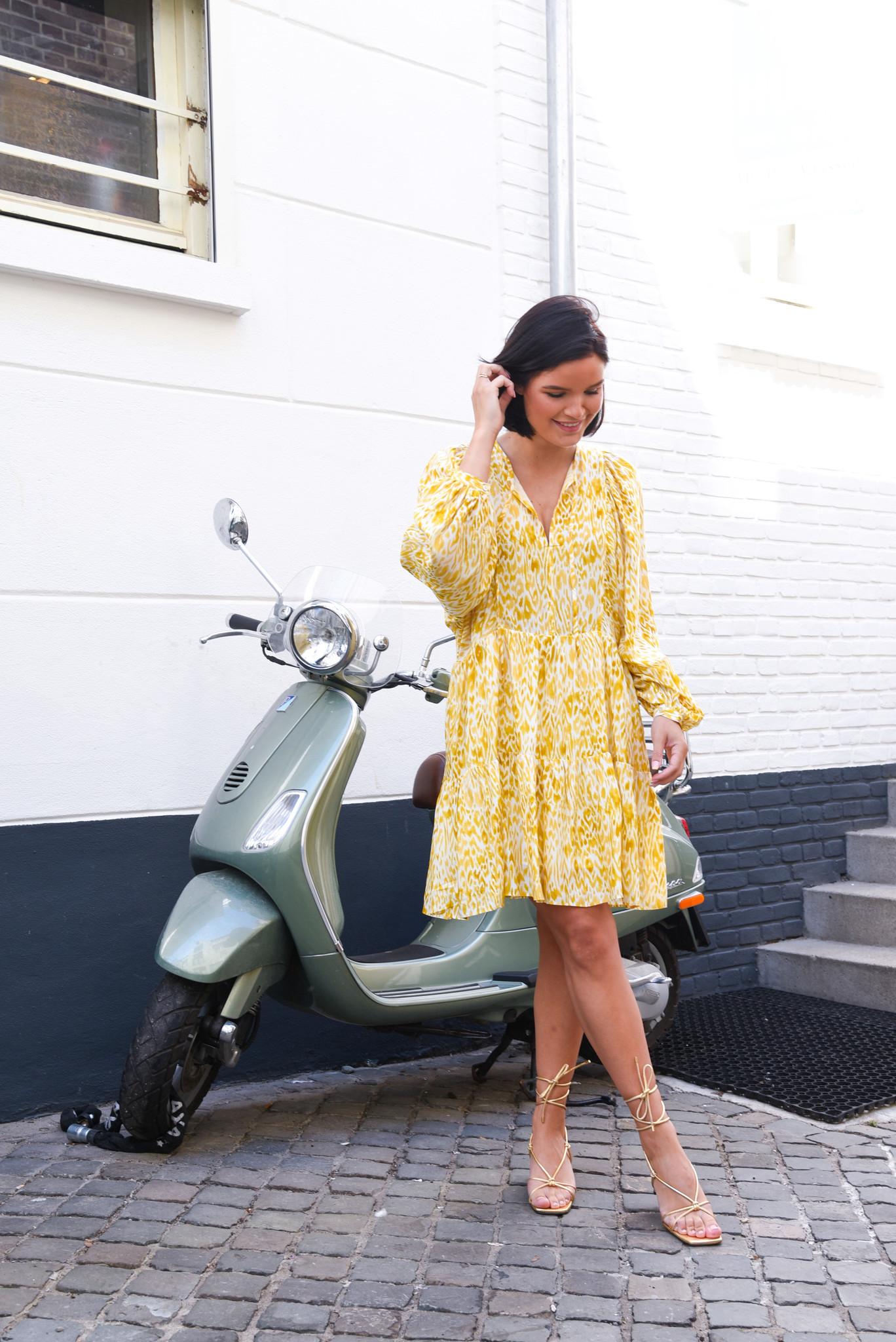 Anine Bing jurkje Madison A-02-1125-122 multicolour