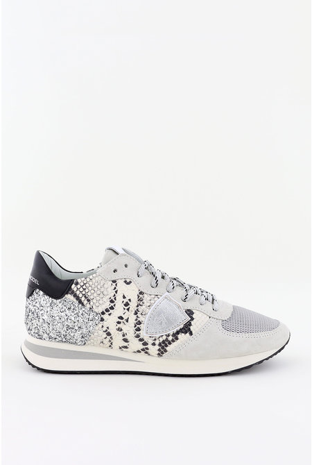 Philippe Model sneakers Tropez X TZLD-PG01 grijs