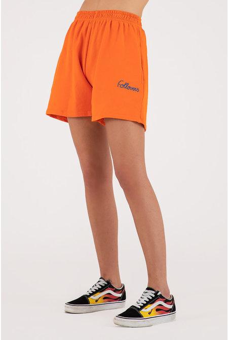 short Kendall oranje