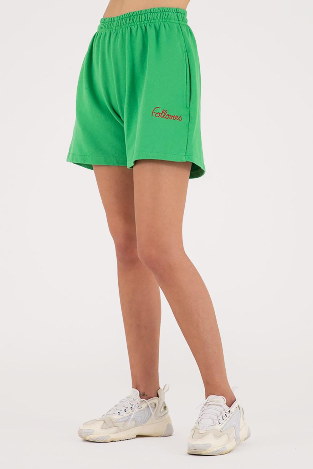 Follovers short Kendall groen