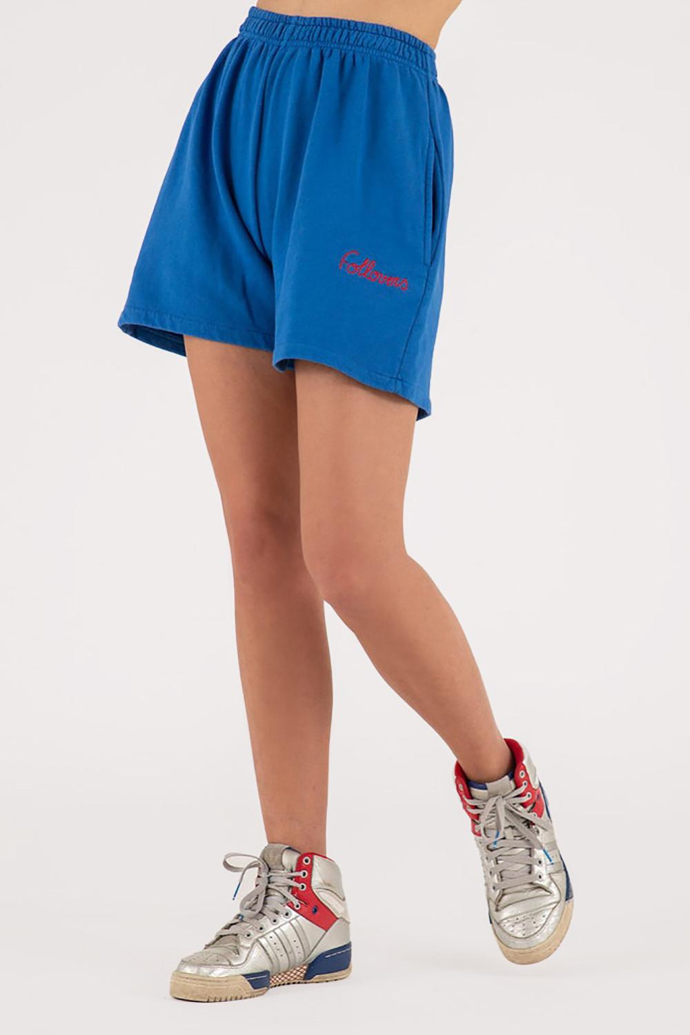 Follovers short Kendall blauw