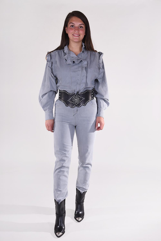 Isabel Marant jumpsuit Gayle CB0288-20A038E grijs