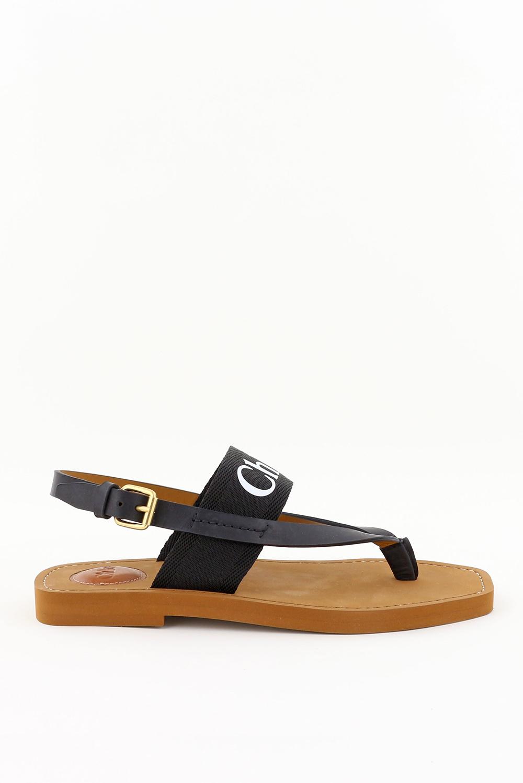 Chloe sandalen Woody C20U32708001 zwart