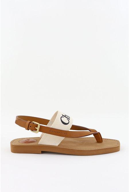 sandalen Woody wit