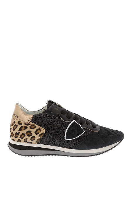 Philippe Model sneakers Tropez X TZLD-YG01 zwart