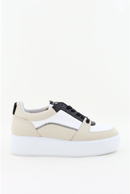 Nubikk sneakers Elise Blush wit