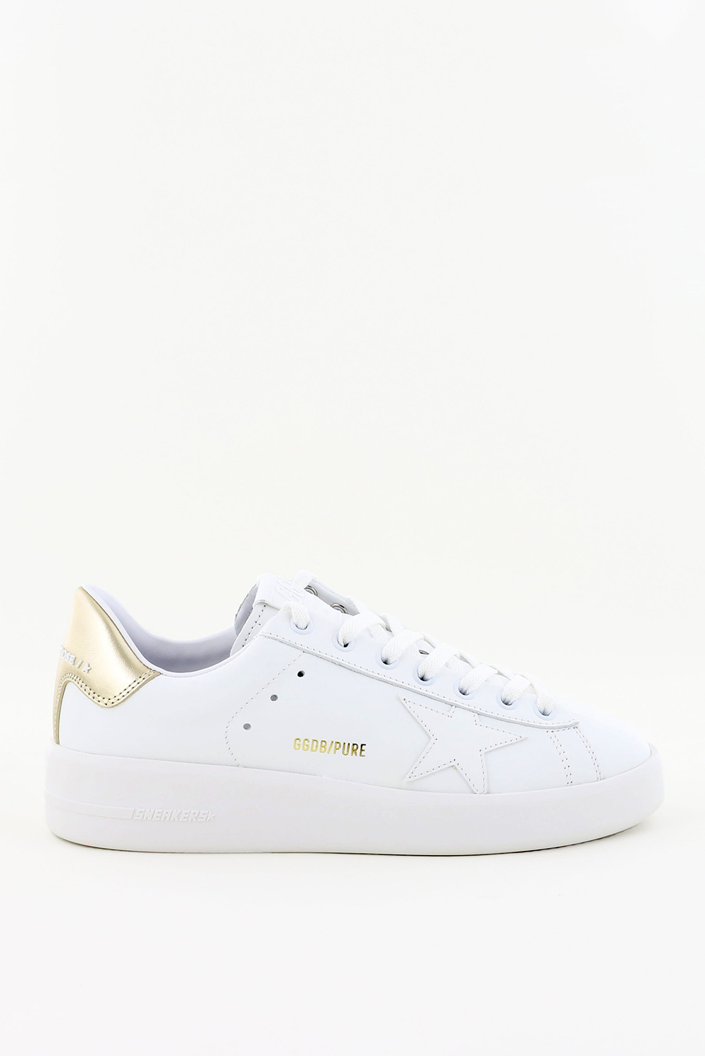 Golden Goose sneakers Pure Star GWF00124.F000465 wit/goud