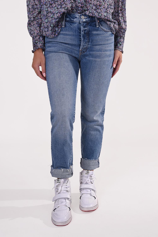 Mother jeansbroek The Scrapper 1036-313 blauw