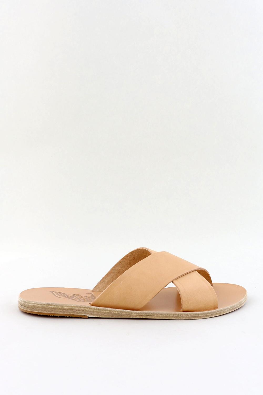 Ancient Greek Sandals slippers Thais beige