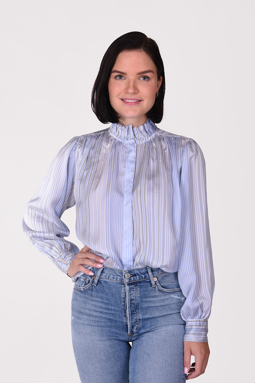 Forte_Forte blouse 7573 blauw