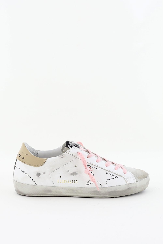 Golden Goose sneakers Superstar GWF00101.F000124 wit