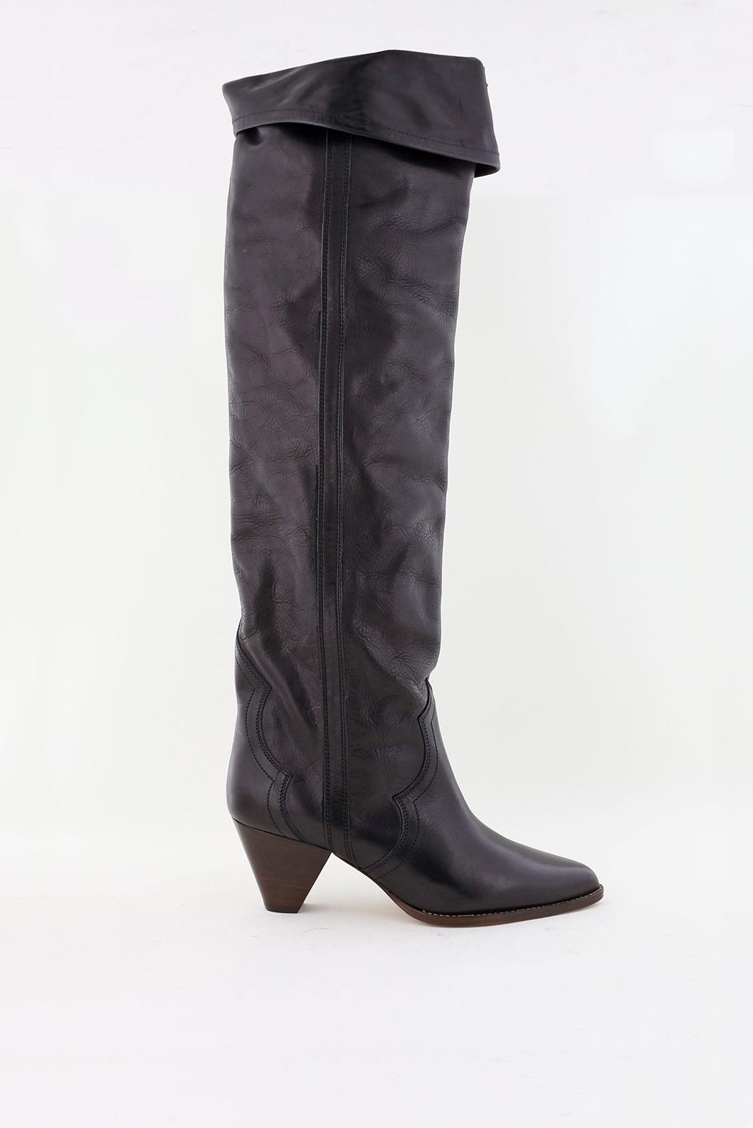 Isabel Marant overknee laarzen Remko CD0035 20A041S zwart