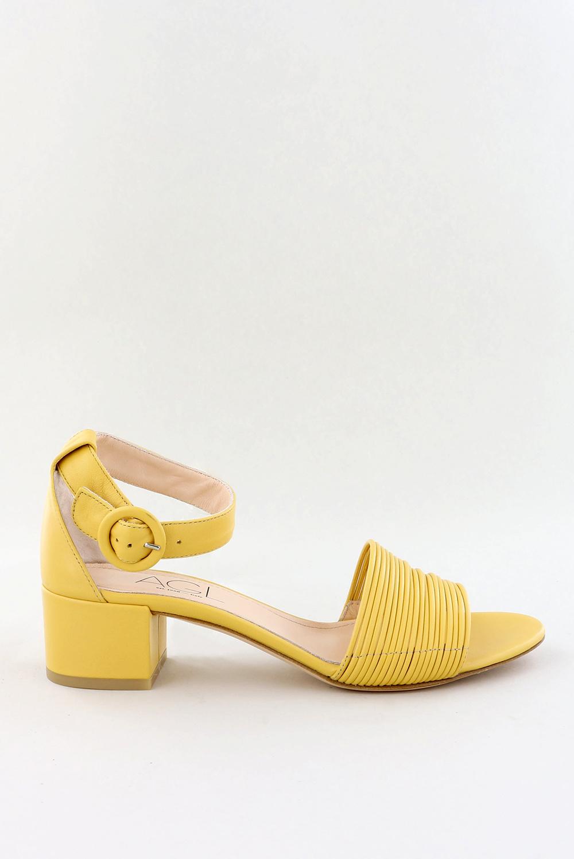 AGL sandalen D631042 geel