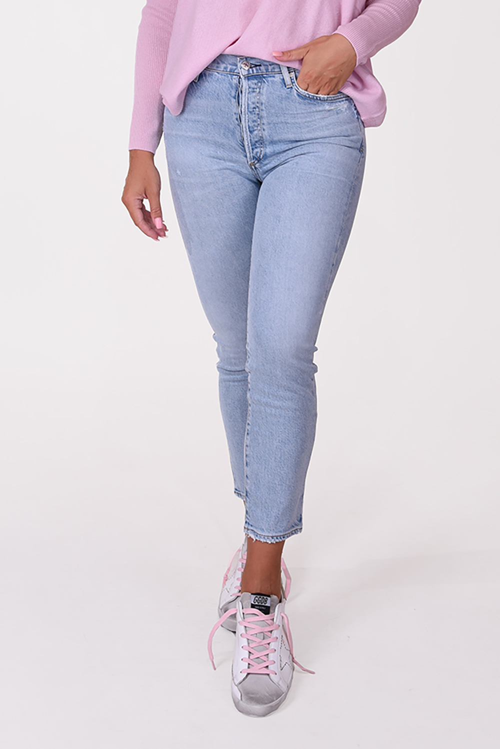 Citizens of Humanity jeansbroek Olivia 1728D-1140 blauw