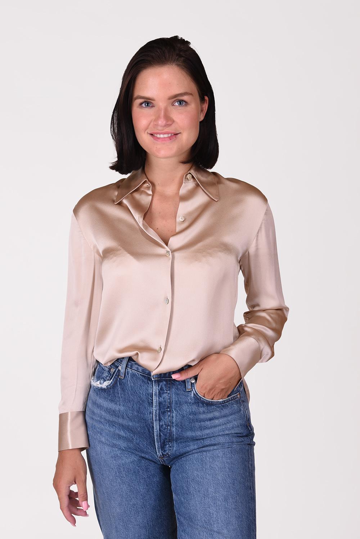Vince blouse V6728-12324 beige