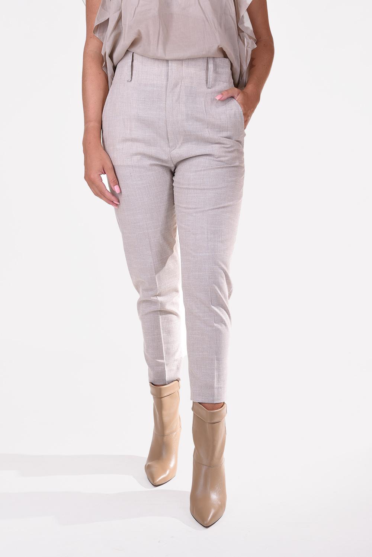 Isabel Marant broek Noah PA0718-20A027E beige