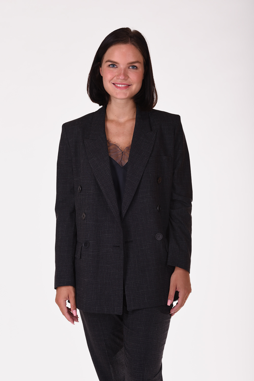 Isabel Marant blazer Leagan VE1381-20A027E zwart