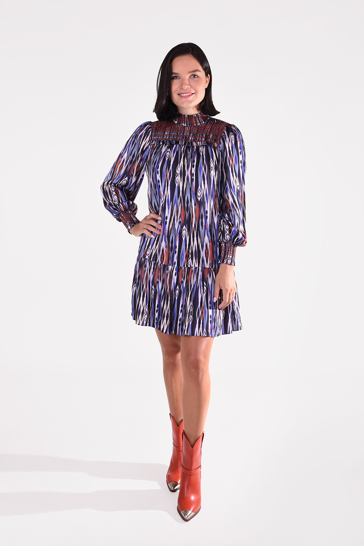By Malina jurk Shirley 2191001 blauw