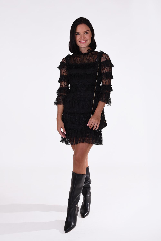 By Malina jurk Carmine mini 217112 zwart