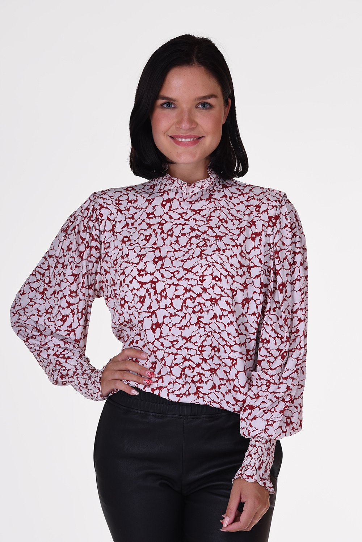 Isabel Marant top Yoshi HT1497-20A044E roze
