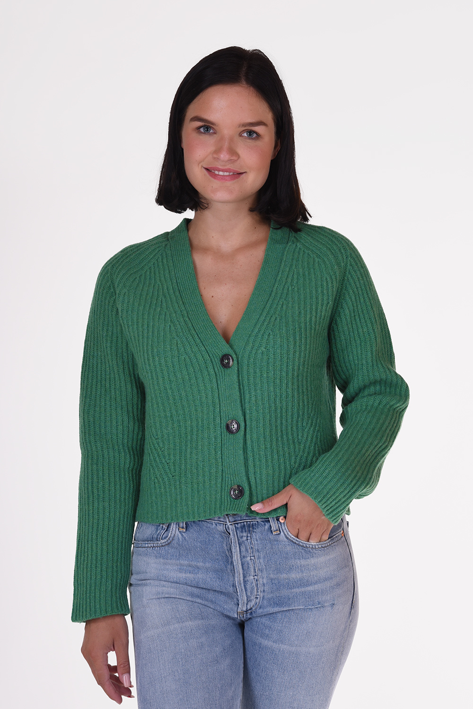Ganni vest K1441 groen