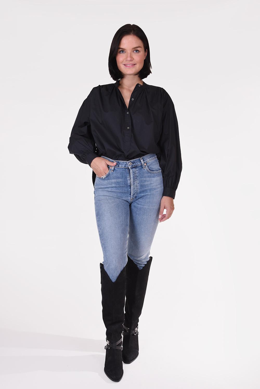 Anine Bing blouse Eden zwart