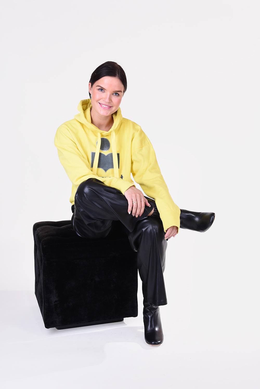 Isabel Marant trui Mansel SW0031-20A054E geel