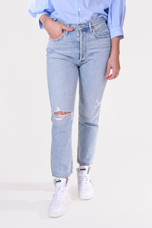 Agolde jeans Riley A056B 983 blauw