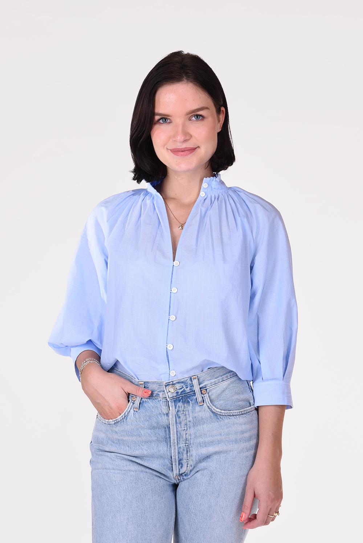 Frame blouse Ciel LWSH1718 blauw