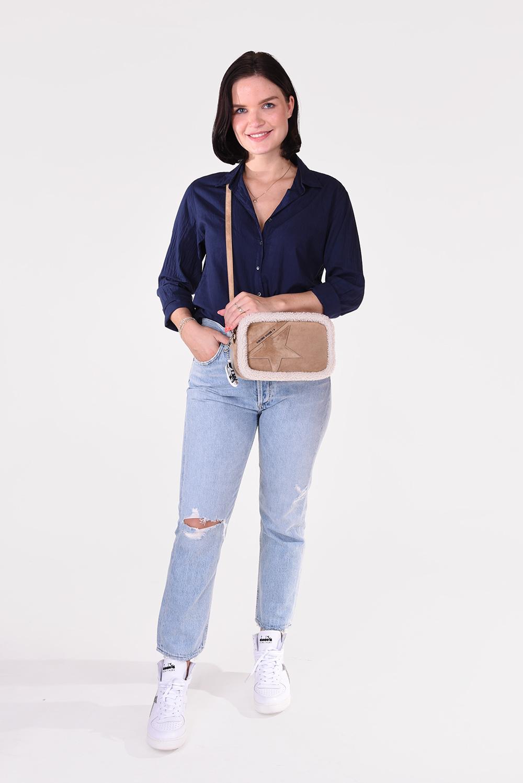 Xirena blouse Beau X05511 donkerblauw