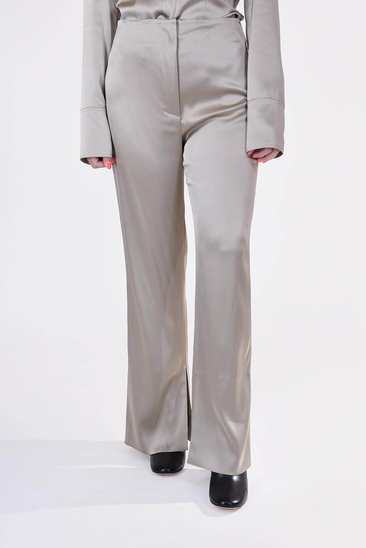 Nanushka broek Tabbie NW20FWPA04979 beige