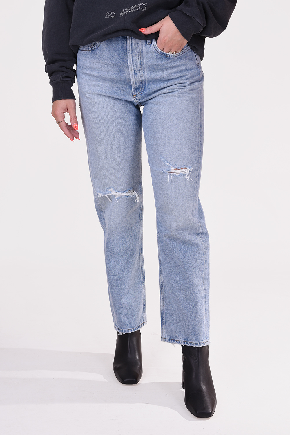 Agolde jeans 90´s A069-1141 blauw