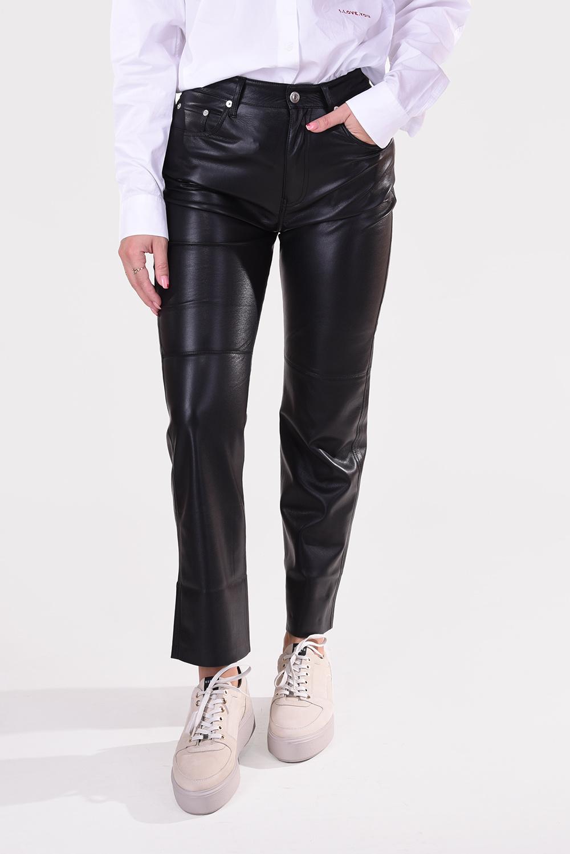 Nanushka broek Vinni NW20CRPA03599 zwart