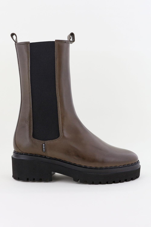 Nubikk laarzen Fae Adams 21043100 khaki-groen