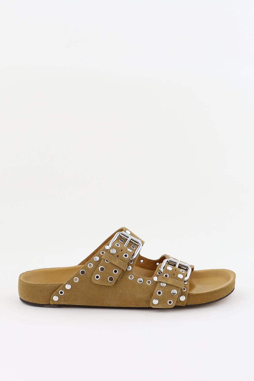 Isabel Marant sandalen Lennyo SD0462-21P038S cognac