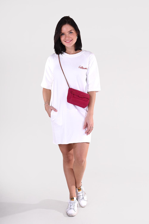 Follovers jurk Kris wit
