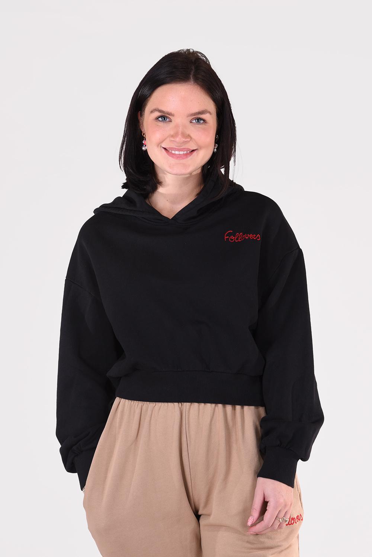 Follovers trui Kylie zwart