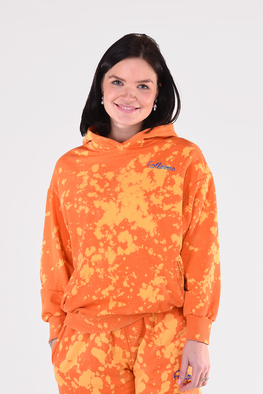 Follovers trui Khloe Tie Dye oranje