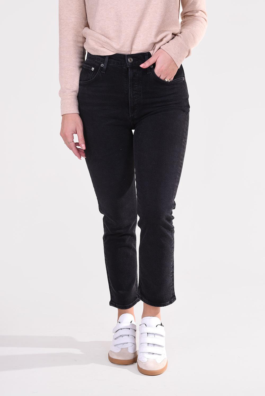 Agolde jeans Riley A056 1286 zwart