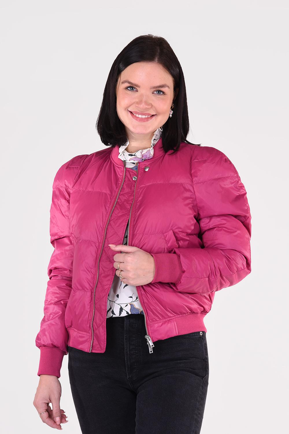 Isabel Marant jas Cody MA0899 21P002E roze