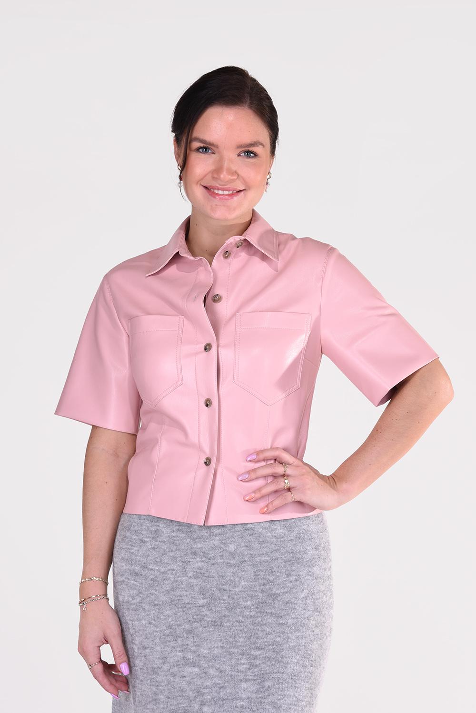 Nanushka blouse Sabine NW21RSTP01532 roze