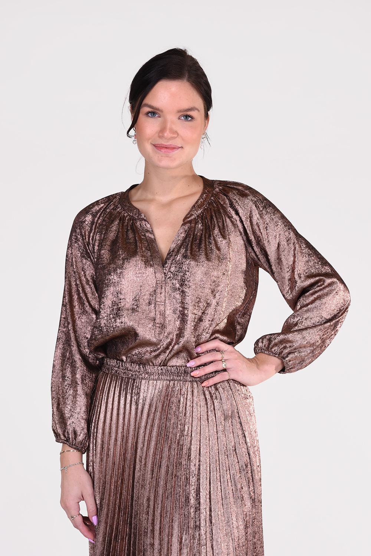 Xirena blouse Farrah X08542 brons
