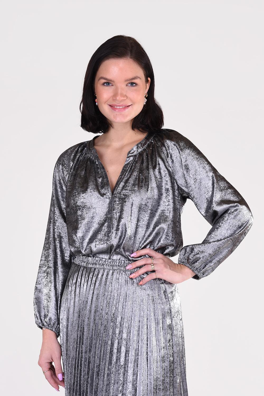 Xirena blouse Farrah X08542 zilver