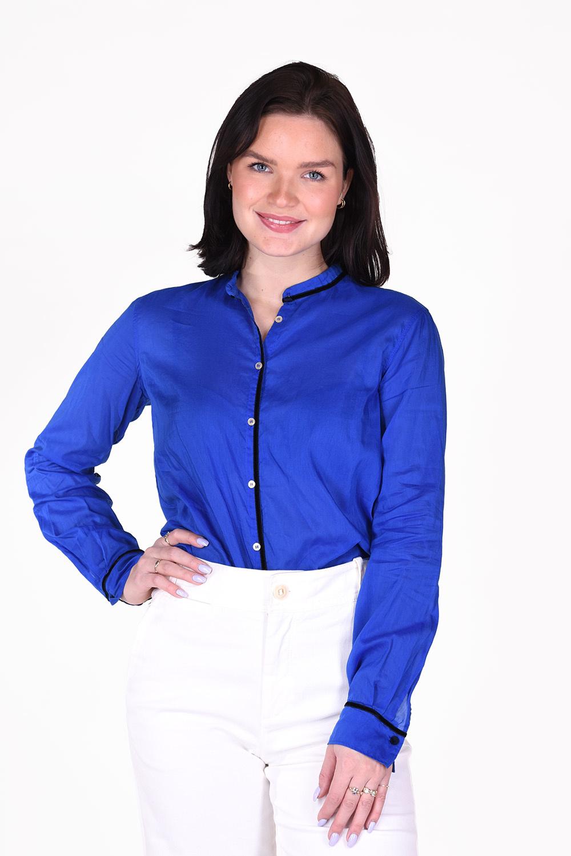 Forte_Forte blouse 7797 blauw