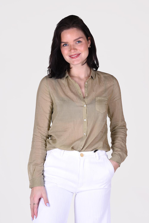 Forte_Forte blouse 8075 groen