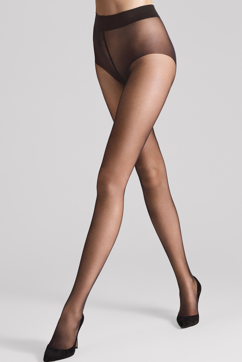 Wolford panty Pure 10 14497 grijs