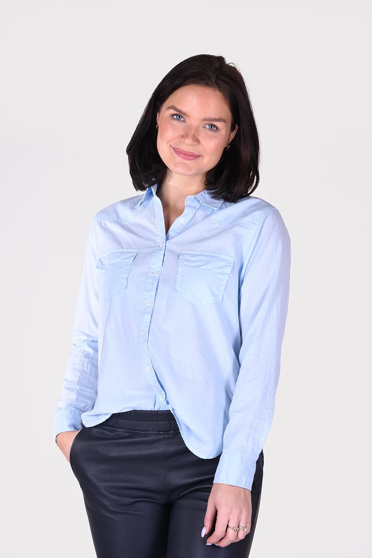 Xirena blouse Denley X05512 blauw