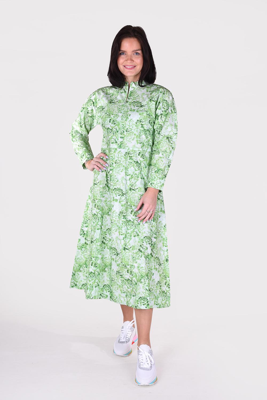 Ganni jurk F4590 groen
